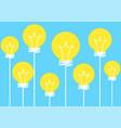 idea balloon vector image vector image