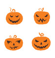 jack olantern happy halloween icon vector image vector image