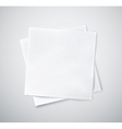Two napkins vector image vector image