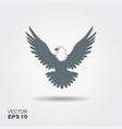 eagle flat icon vector image