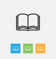 of education symbol on vector image