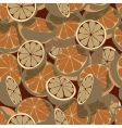 citrus seamless tile vector image vector image