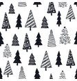 hand drawn year winter vector image vector image