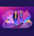 men style and fashion concept vector image vector image