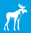 Moose icon white