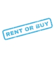 Rent Or Buy Rubber Stamp vector image vector image