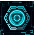 Abstract future technology concept background vector image vector image