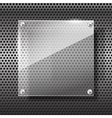 Chrome black and grey background texture 003 vector image vector image