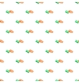 Hand with card pattern cartoon style vector image vector image