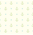 pattern the anchor for textile or other design vector image vector image