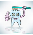 Healthy teeth vector image