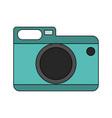 classic photographic camera vector image