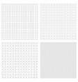 dots pattern backgrounds vector image