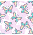 Fashion Butterflies pattern vector image vector image