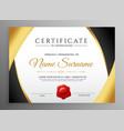 premium certificate of appreciation template