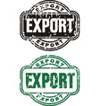Stamp Export vector image