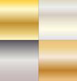 metal gradients vector image