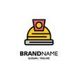 architecture construction helmet business logo vector image