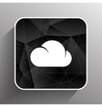 cloud icon sharing network bin lock forward key vector image