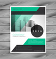 company business flyer brochure template vector image vector image