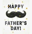 fathers day poster vector image