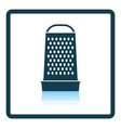 Kitchen grater icon vector image vector image
