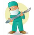Medical Cartoon vector image vector image