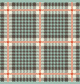 tweed houndstooth tartan seamless pattern vector image vector image