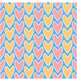 abstract decorative seamless romantic pattern vector image vector image