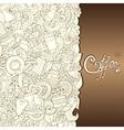 Coffee Hand-Drawn vector image