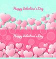 happy valentines day greeting card templates vector image