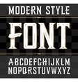 label font modern style Whiskey label vector image vector image