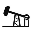 petrol extract icon simple style vector image vector image