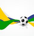 soccer football design art vector image vector image