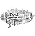 what does your logo color say about your business vector image vector image