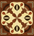 wooden inlay light and dark wood patterns veneer vector image vector image