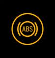 anti braking abs button logo system lock braking