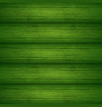 dark green wooden planks texture vector image