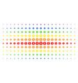 finance spectral halftone grid vector image vector image