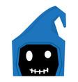 happy halloween cartoon reaper avatar vector image