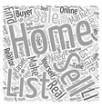 Why It s Never Been Easier To Sell Your Own Home vector image vector image