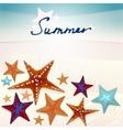 01 Starfish Sea vector image