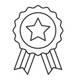 award badge united state independence day related vector image