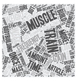 Gain Weight Fast Muscle With High Frequency Pt 1 vector image vector image