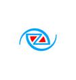 initial letter z logo template design vector image vector image