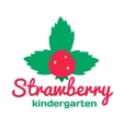 Logo for kindergarten and Family Day Care vector image vector image