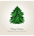 Merry Christmas Holiday Web Page Template vector image