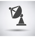 Satellite antenna icon vector image