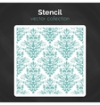 stencil laser cuting template seamless pattern vector image