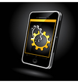 touch pad phone vector image vector image